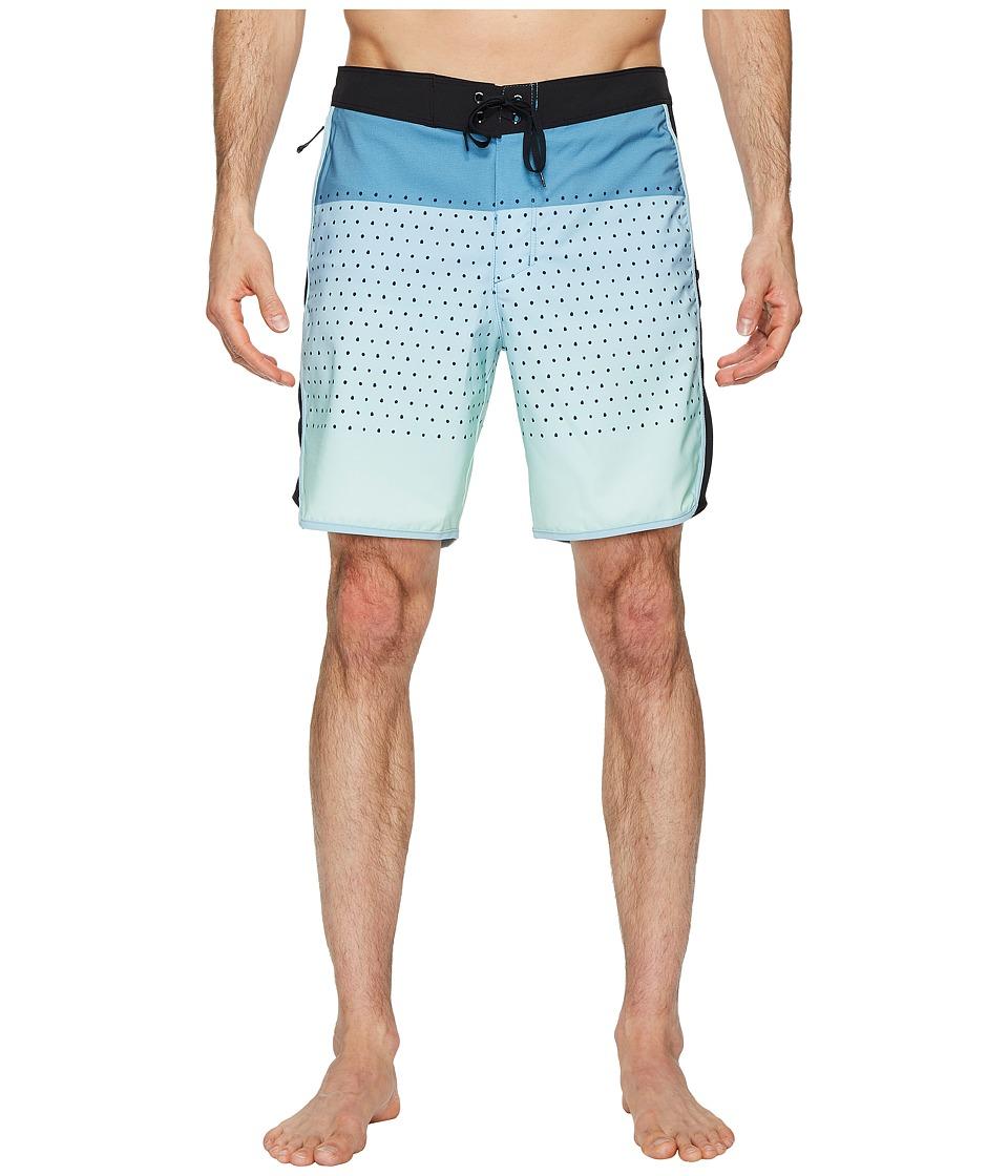 Hurley Phantom Motion Third Reef 18 Boardshorts (Ocean Bliss) Men