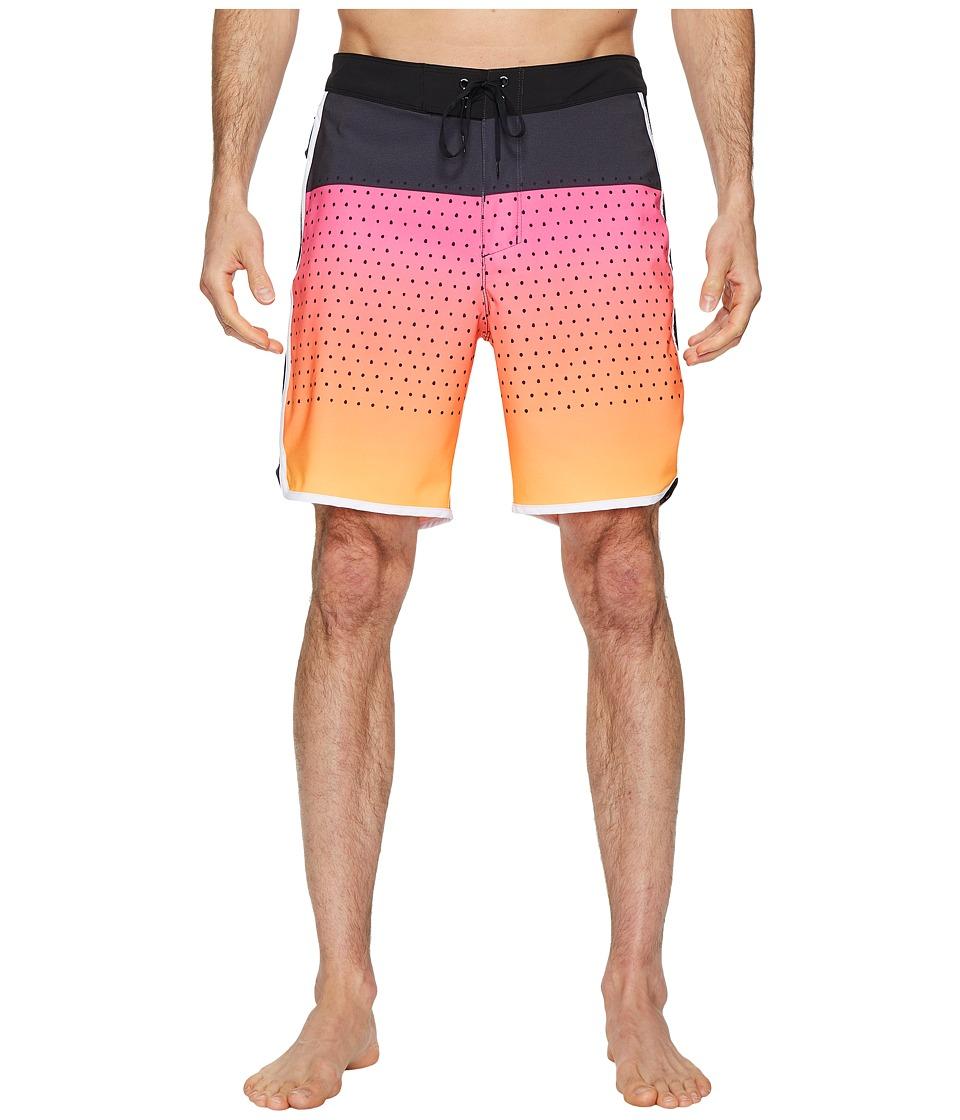 Hurley Phantom Motion Third Reef 18 Boardshorts (Hyper Pink) Men