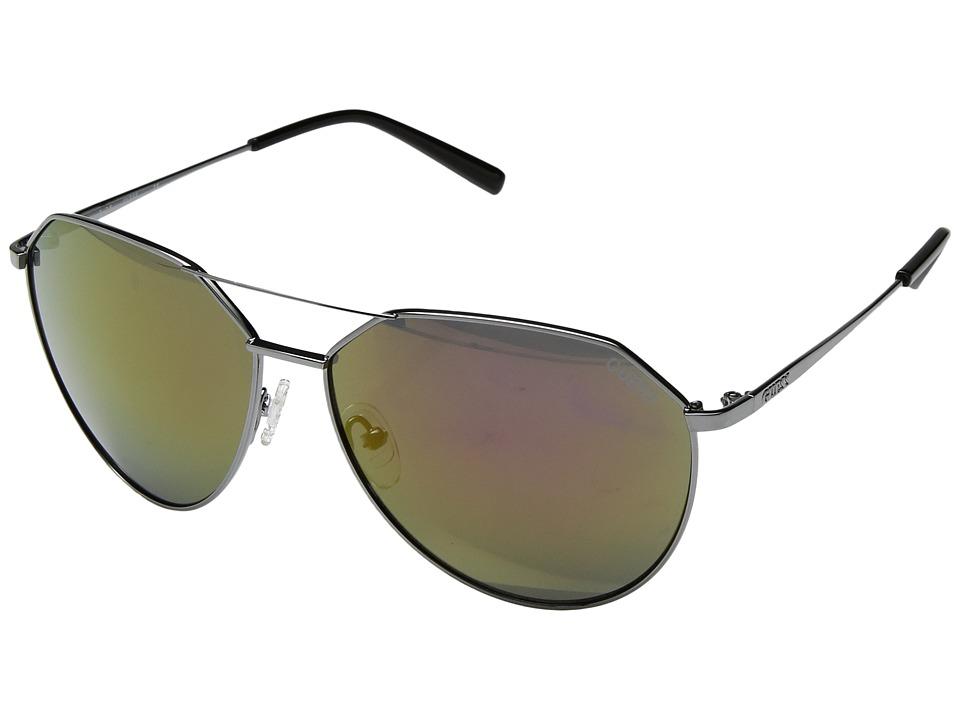GUESS - GF0161 (Shiny Gumetal/Bordeaux Mirror) Fashion Sunglasses