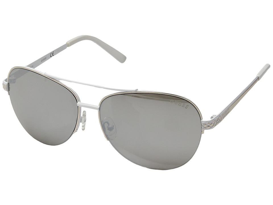 GUESS - GF6008 (Gold/Other/Smoke Mirror) Fashion Sunglasses
