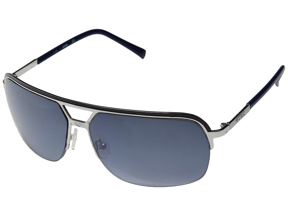 GUESS - GF0159 (Blue/Other/Gradient Blue) Fashion Sunglasses
