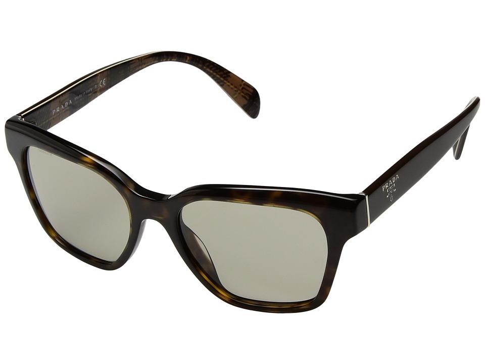 Prada - 0PR 11SS (Brown) Fashion Sunglasses