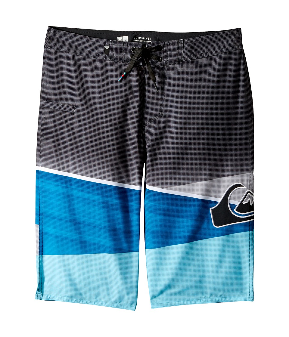 Quiksilver Kids Slash Logo Boardshorts (Big Kids) (Atomic Blue) Boy