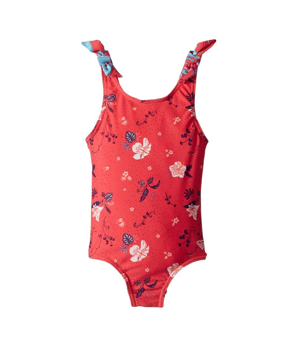 Roxy Kids Mermaid One-Piece (Toddler/Little Kids) (Rouge Red/Tropicool) Girl