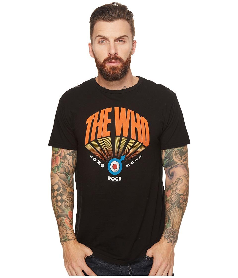 The Original Retro Brand - Vintage Cotton Who Tee (Black) Men's T Shirt