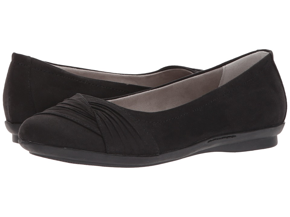 White Mountain - Hilt (Black Suedette) Women's Shoes