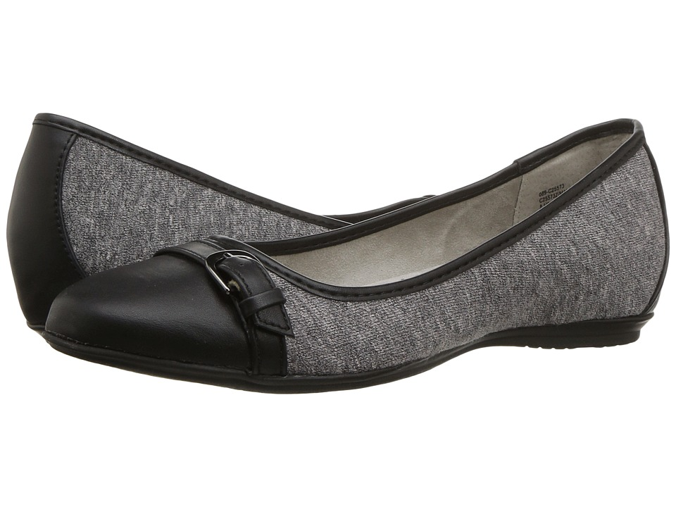 White Mountain - Malinda (Grey/Black) Women's Shoes