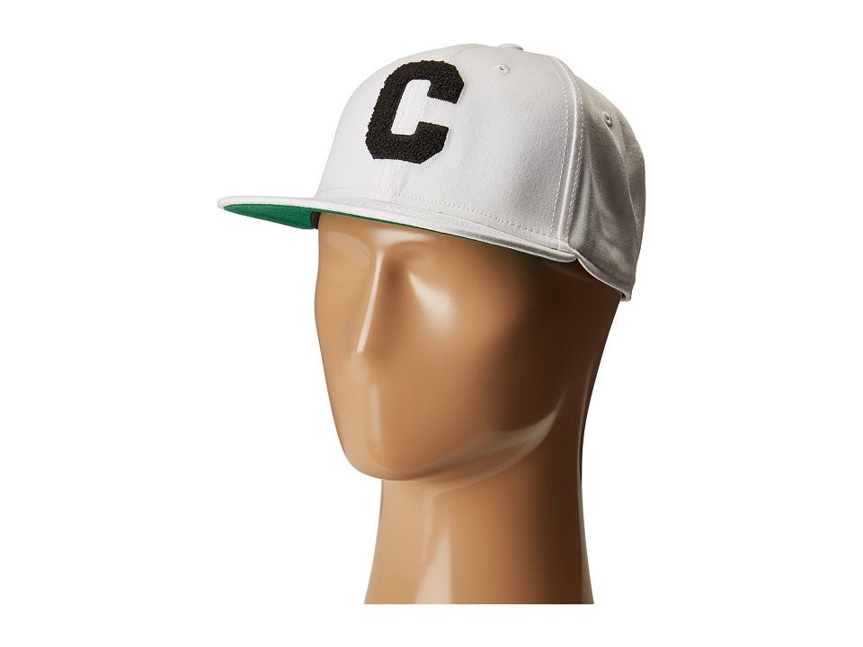 Converse - Chenille C Snapback (White) Caps