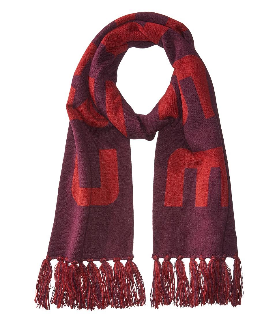 Converse - Knit Stadium Scarf (Dark Sangria) Scarves