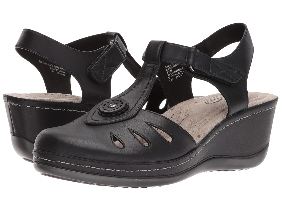 White Mountain - Francina (Black/Burn) Women's Shoes