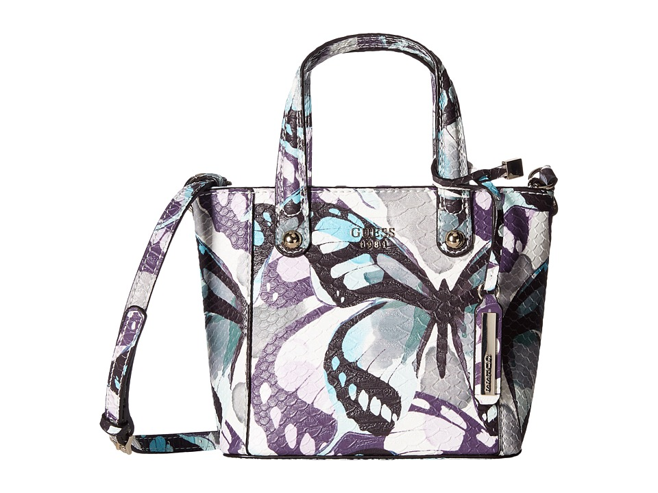 GUESS - Kamryn Mini Tote (Butterfly) Tote Handbags