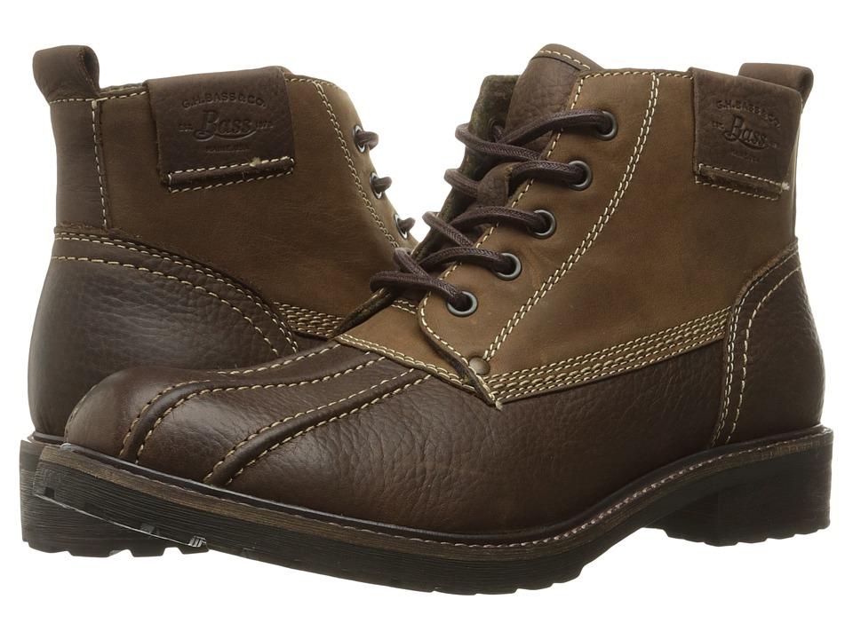 G.H. Bass & Co. - Brigg (Brown/Brown) Men's Shoes
