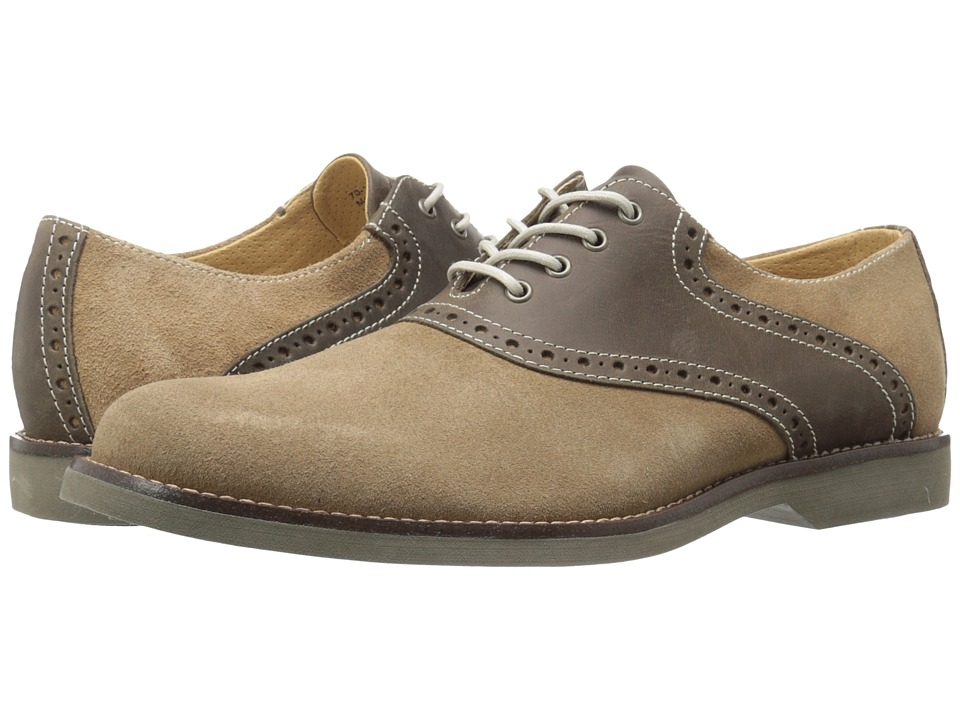G.H. Bass & Co. - Parker (Taupe/Chocolate) Men's Shoes