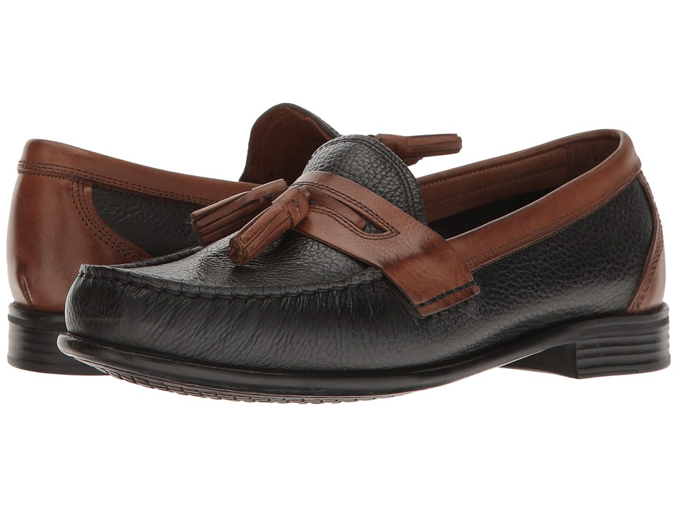 G.H. Bass & Co. Waylan (Black/Tan) Men