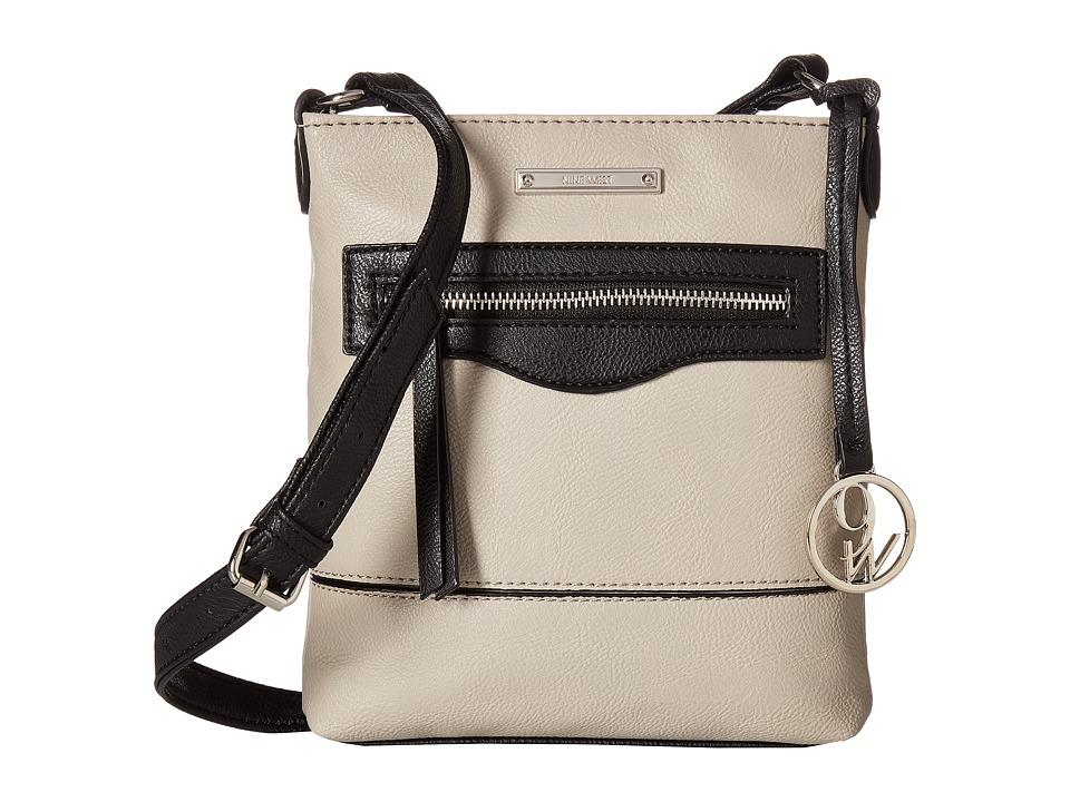 Nine West - Ember (Dove/Black) Handbags