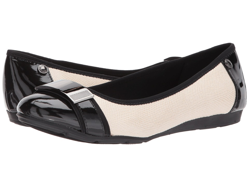 Anne Klein - Adette (Vanilla Cream/Black) Women's Shoes
