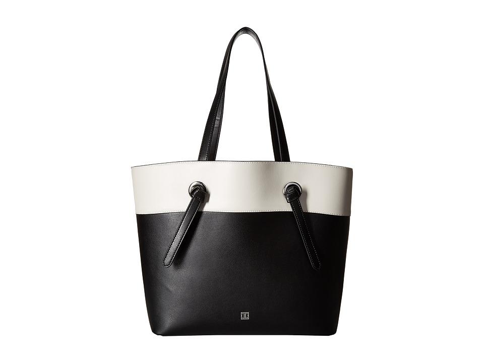 Ivanka Trump - Alexey Tote (Black/White Color Block) Tote Handbags