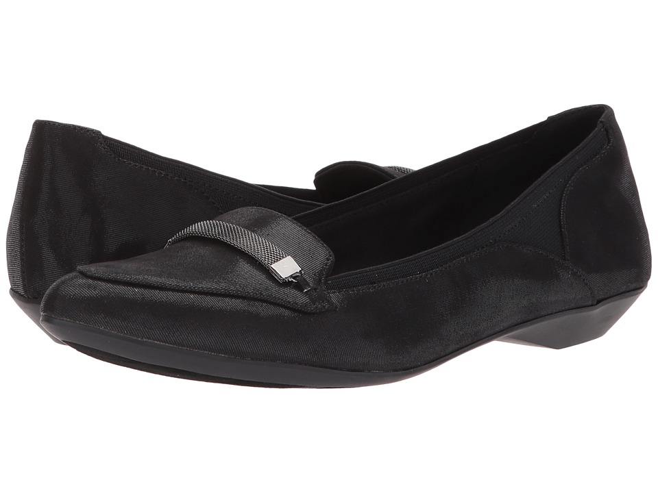 Anne Klein - Obree (Black/Black) Women's Shoes