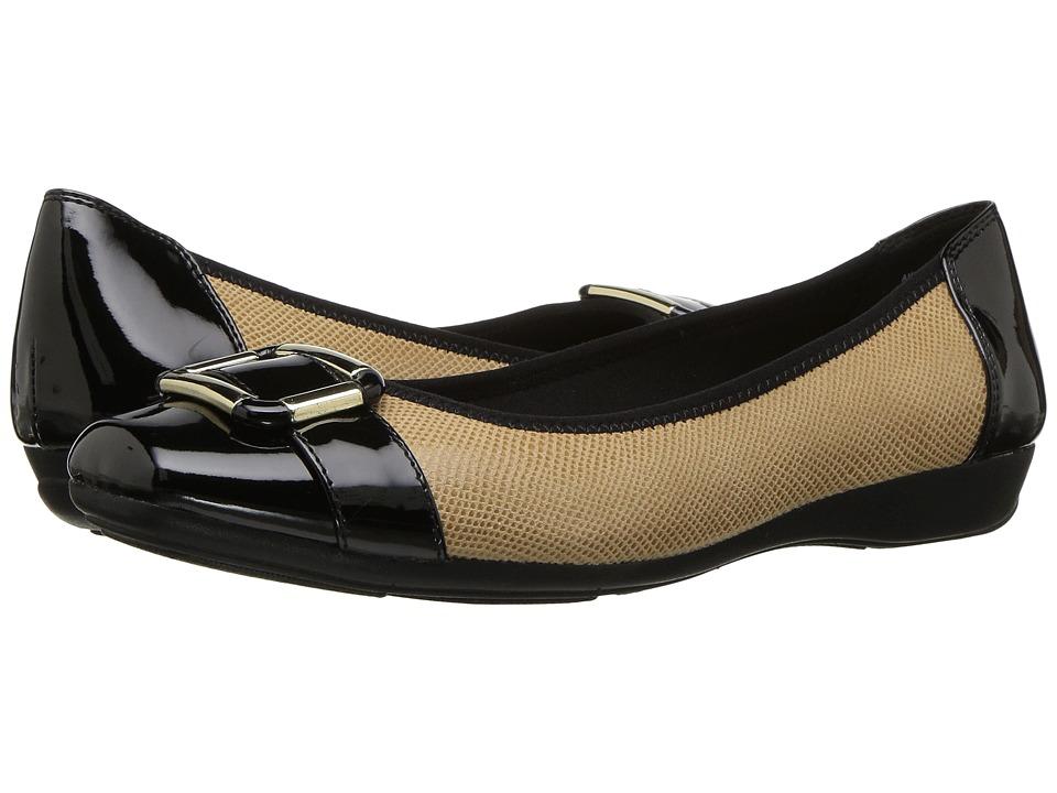 Anne Klein - Unite (Camel/Black) Women's Shoes