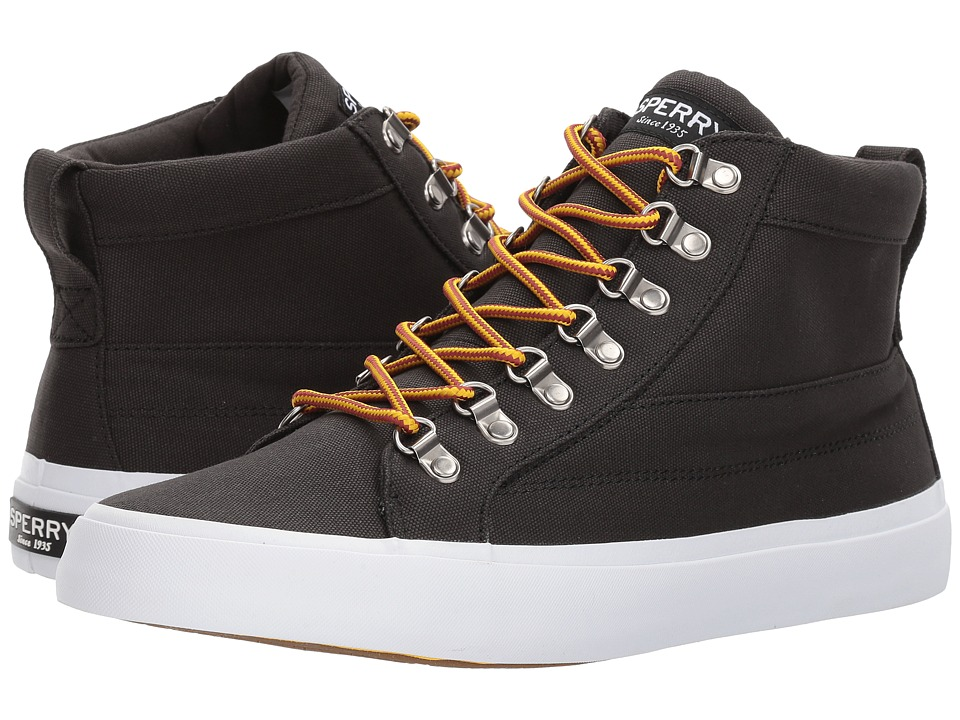 Sperry - Cutter Alpine Canvas (Black) Men's Shoes