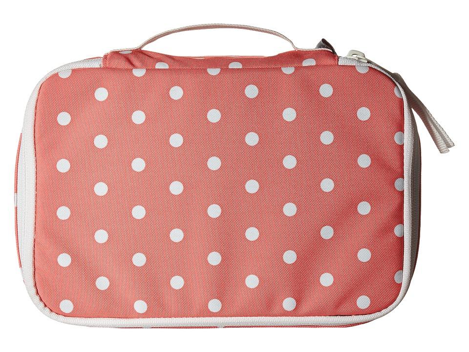JanSport - Bento Box (Coral Sparkle/White Dots) Wallet