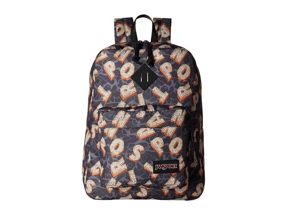 JanSport - DLN Super FX (Multi Diamond Camo) Bags