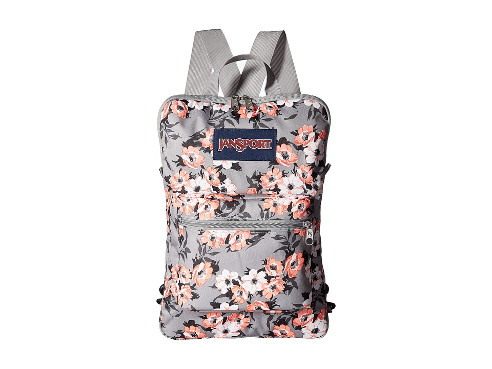 JanSport - Superbreak Sleeve (Coral Sparkle Pretty Posey) Bags