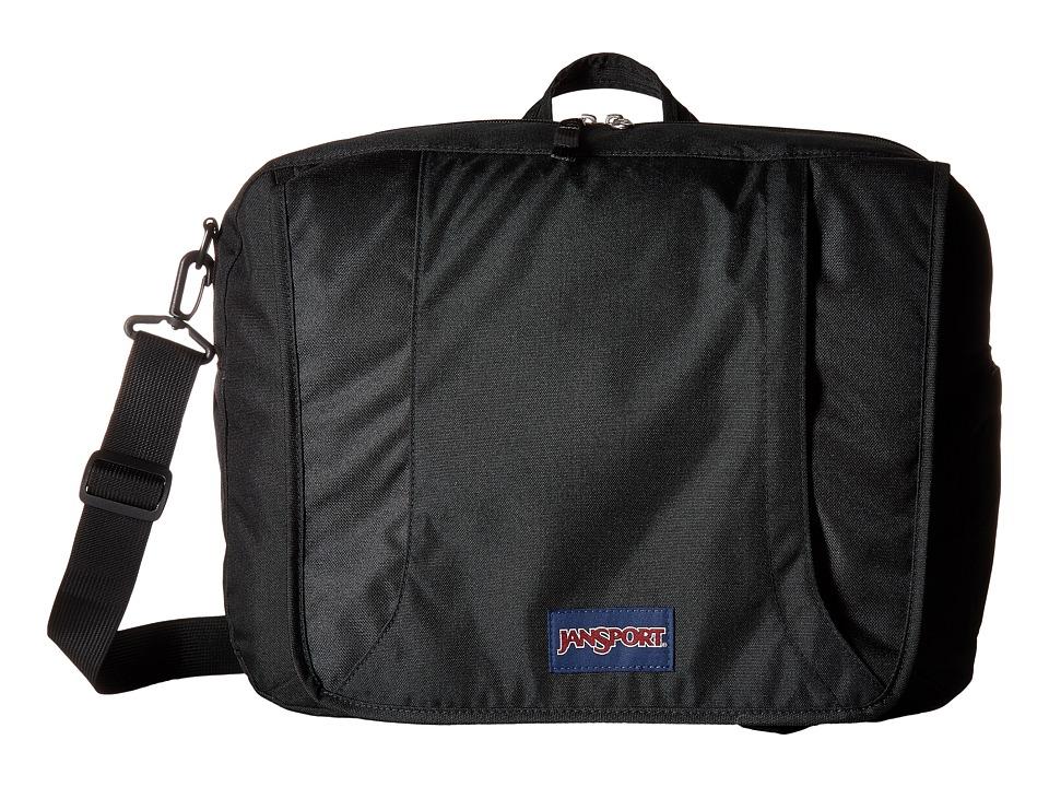 JanSport - Century Brief III (Black) Bags