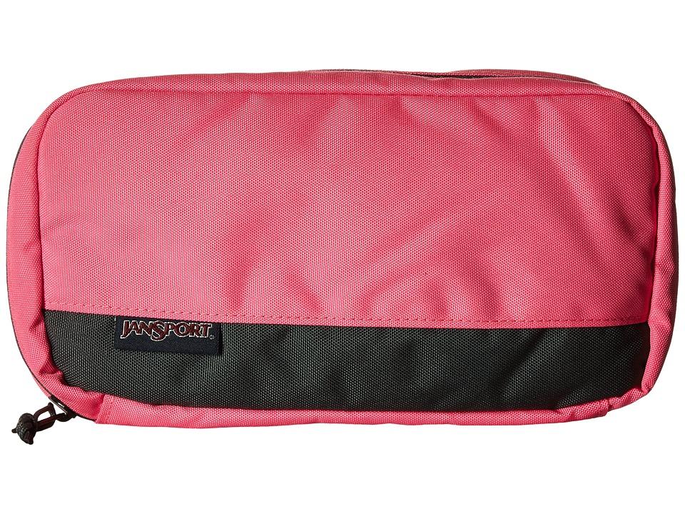 JanSport - Pixel Pouch (Fluorescent Pink) Bags