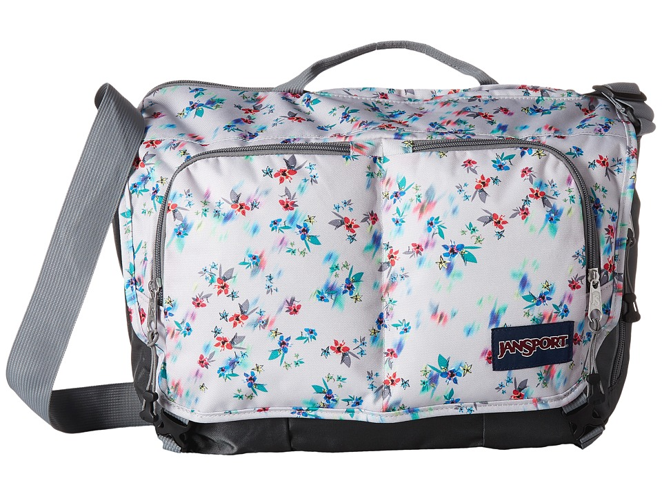 JanSport - Network (Multi Grey Floral Haze) Computer Bags