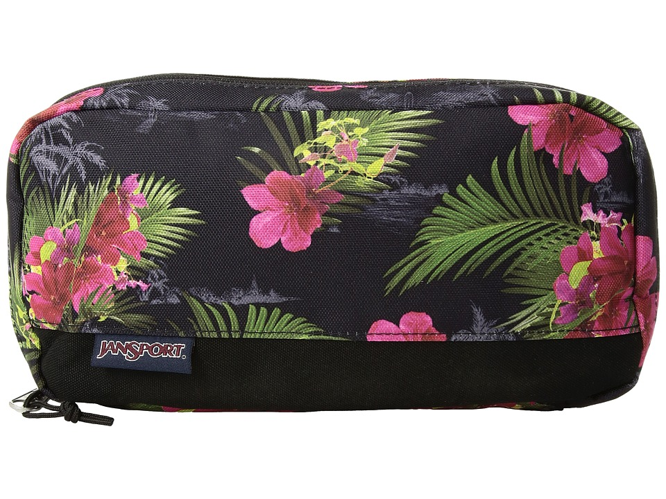 JanSport - Pixel Pouch (Multi Hot Tropic) Bags