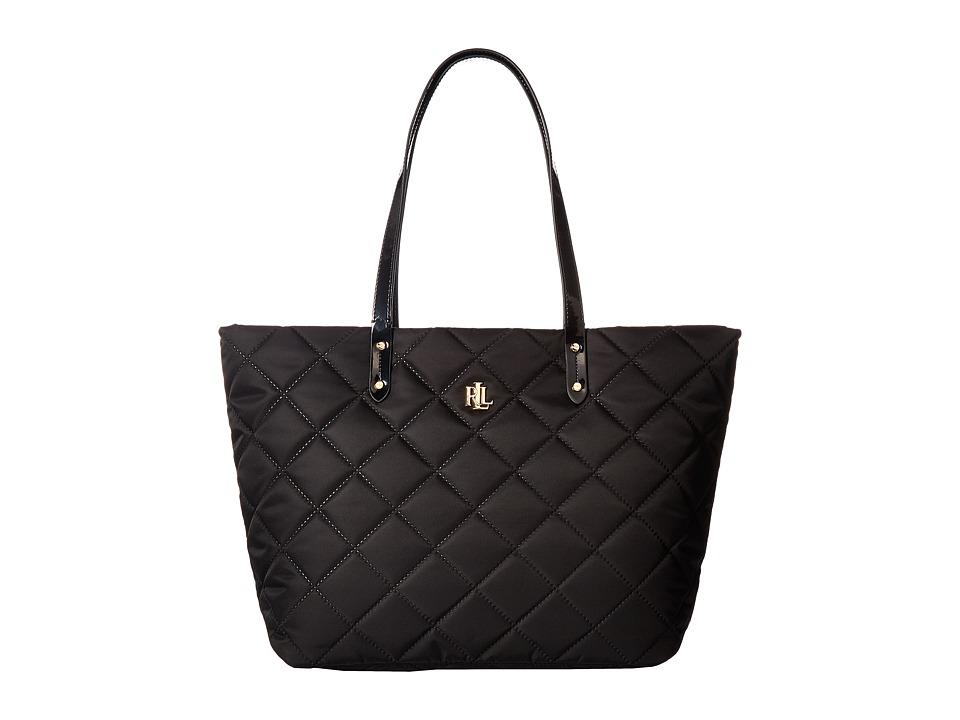 LAUREN Ralph Lauren - Bainbridge Medium Tote (Black) Cross Body Handbags
