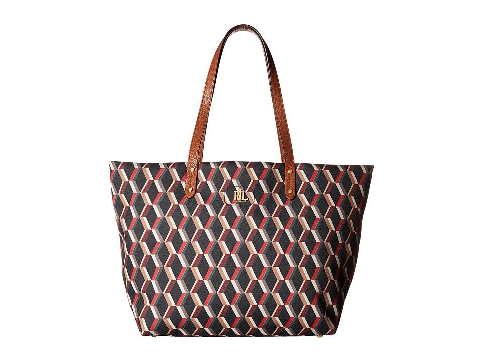 LAUREN Ralph Lauren - Bainbridge Nylon Tote (Multi) Tote Handbags