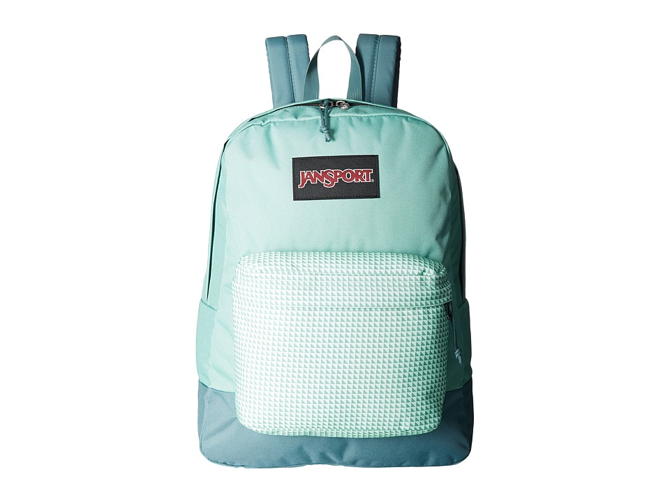 JanSport - Black Label Superbreak (Teal Combo) Backpack Bags