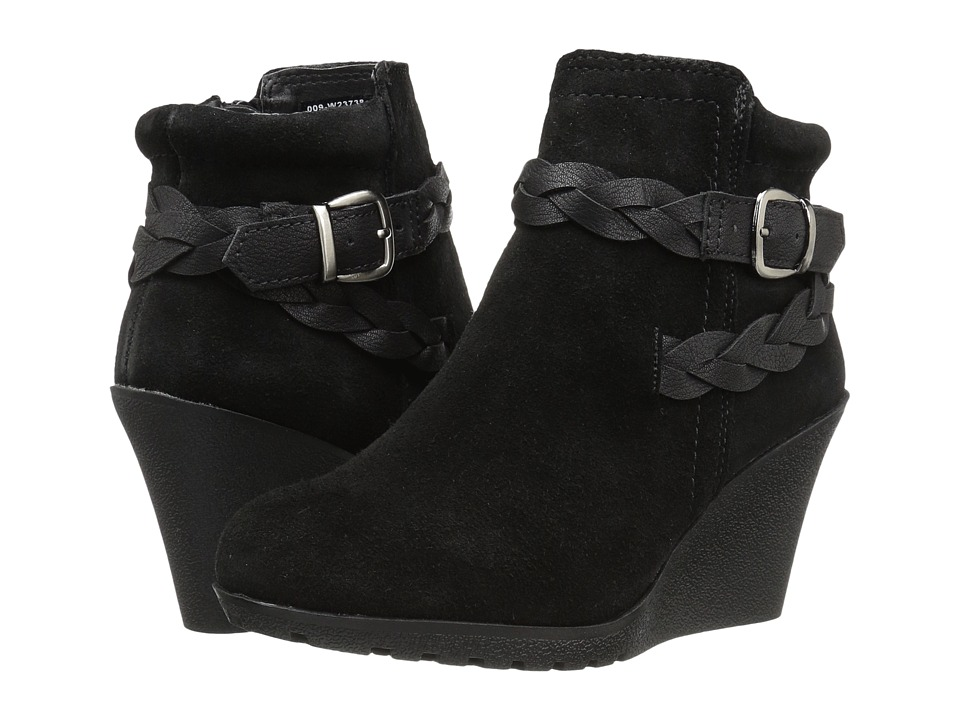 White Mountain - Isabella (Black Suede) Women's Shoes