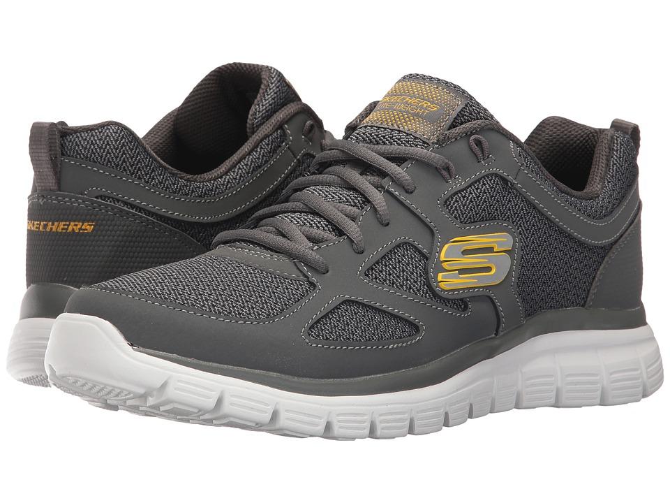 SKECHERS - Burns Agoura (Charcoal) Men's Shoes