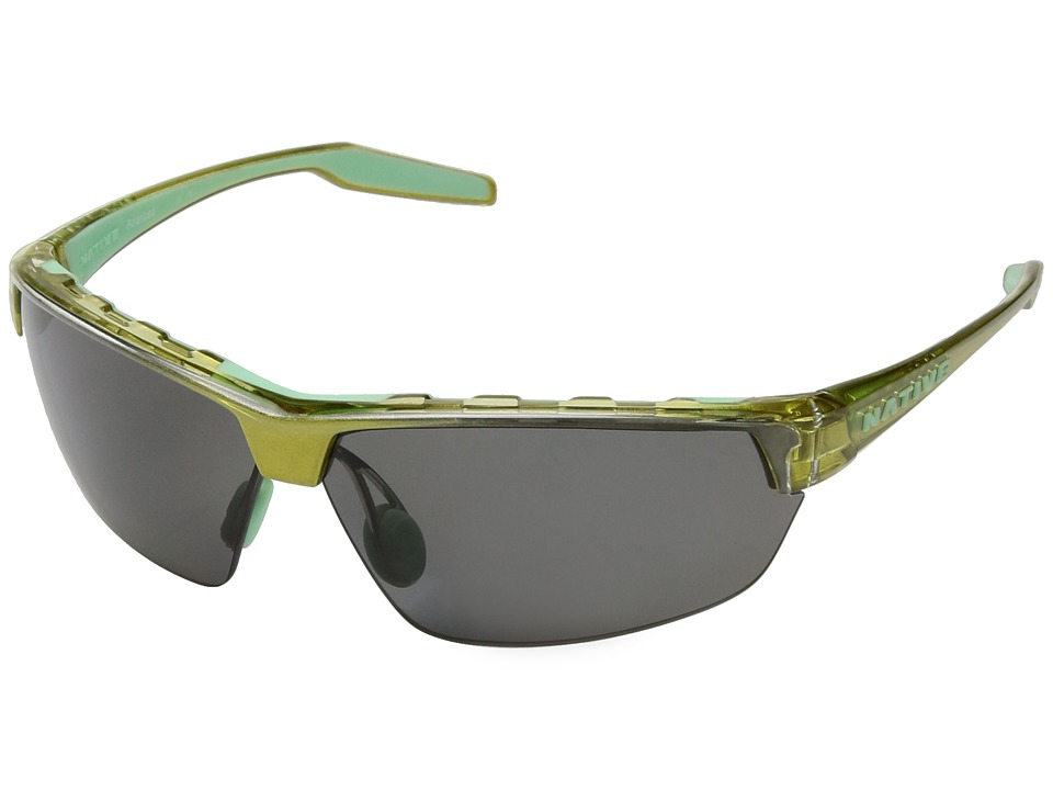 Native Eyewear - Hardtop Ultra (Metallic Fern/Polarized Gray) Sport Sunglasses