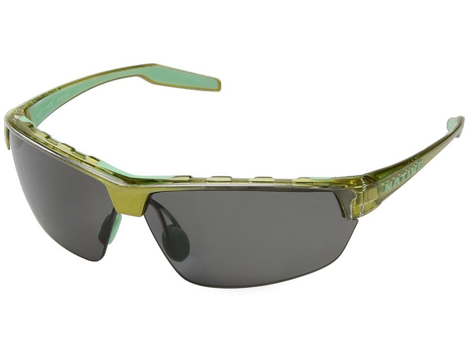 Native Eyewear - Hardtop Ultra (Metallic Fern/Polarized Gray) Sport Sunglasses