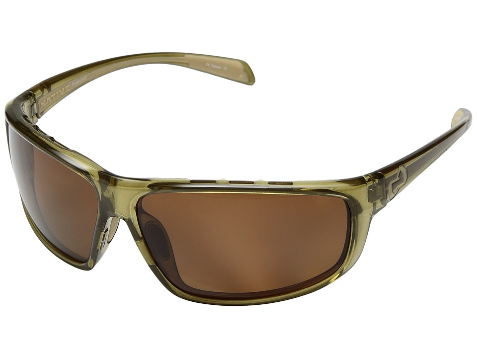 Native Eyewear - Bigfork (Moss/Polarized Brown) Sport Sunglasses