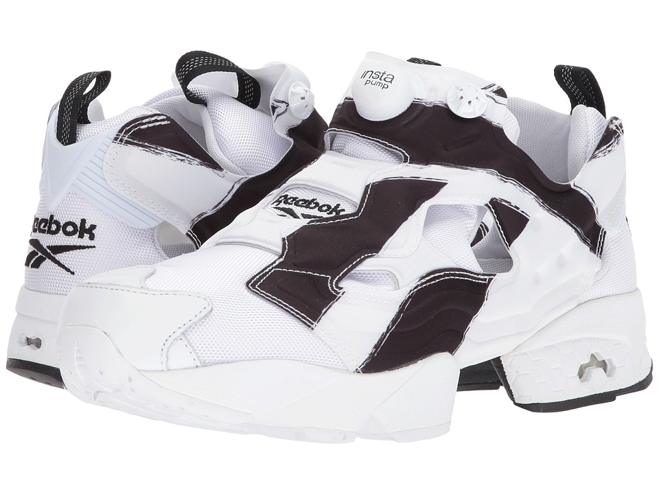 Reebok - Instapump Fury OB (White/Black) Men's Shoes