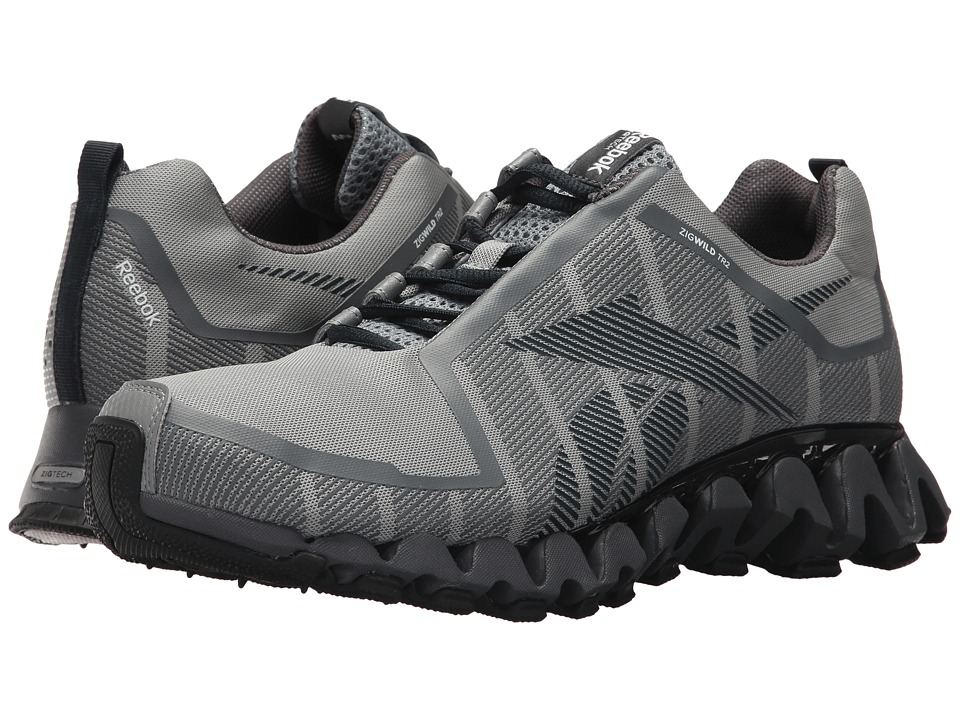 Reebok - ZigWild TR 2 (Flat Grey/Ash Grey) Men's Shoes