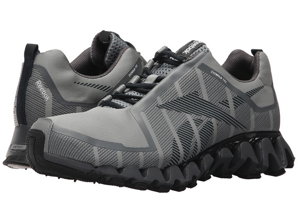 Reebok - ZigWild TR 2 (Flat Grey/Ash Grey) Men's Shoes