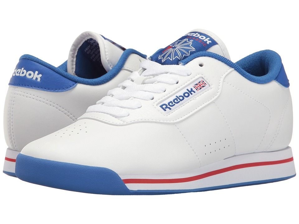 Reebok - Princess Fitness (White/Terra Blue) Women's Shoes
