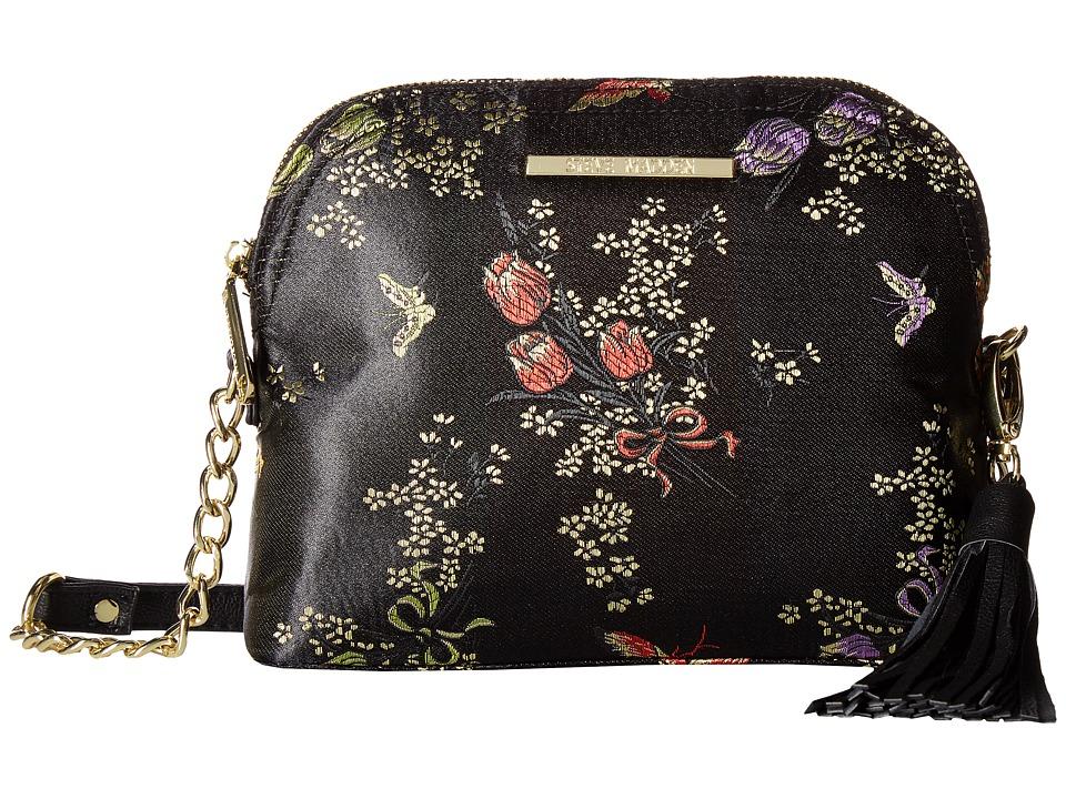 Steve Madden - Bmarylin Printed (Black/Black) Handbags