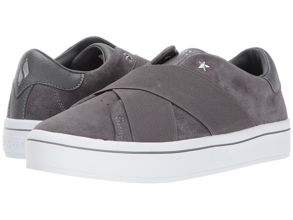 SKECHERS Street - Hi-Lite (Charcoal) Women's Shoes