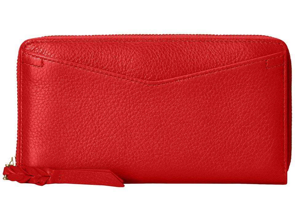 Fossil - RFID Caroline Zip Wallet (Chili Pepper) Wallet Handbags