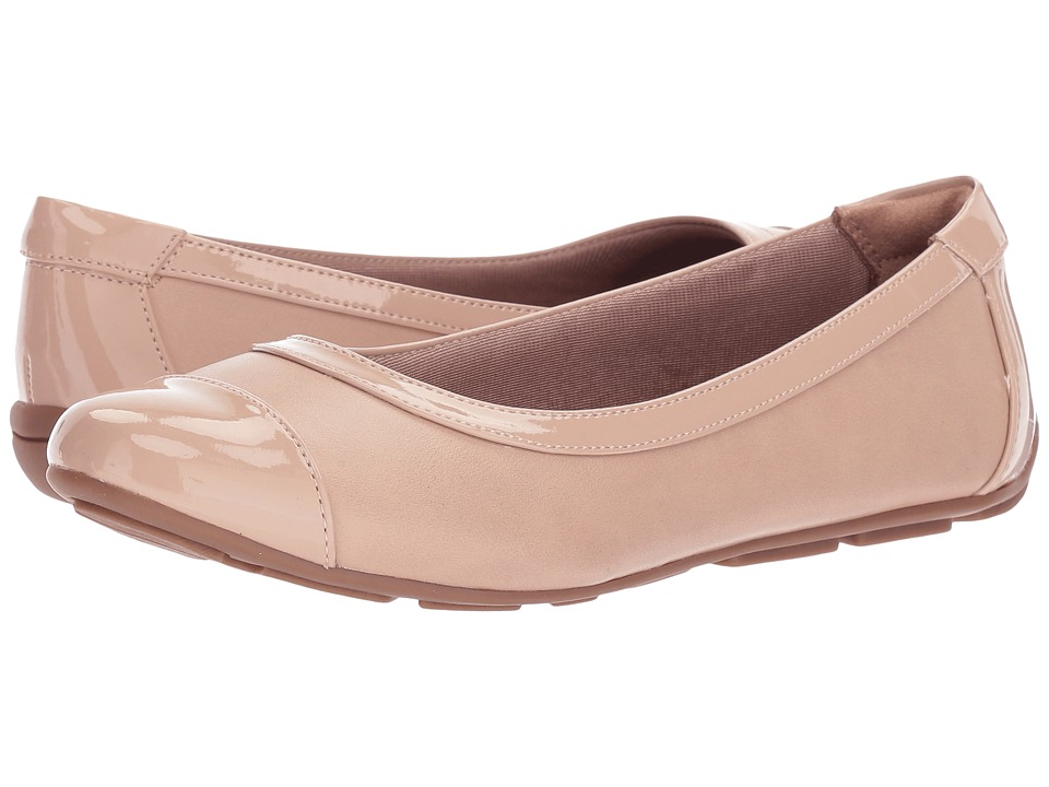 LifeStride - Soho (Taupe/Taupe Patent) Women's Shoes