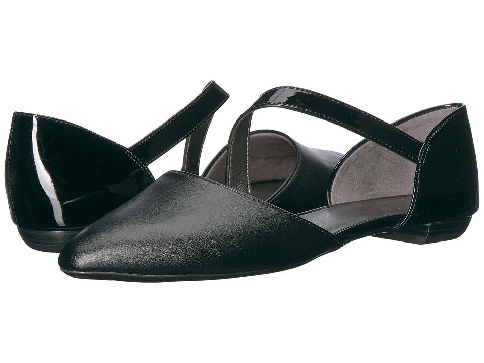 LifeStride - Zalana (Black/Black Patent) Women's Shoes