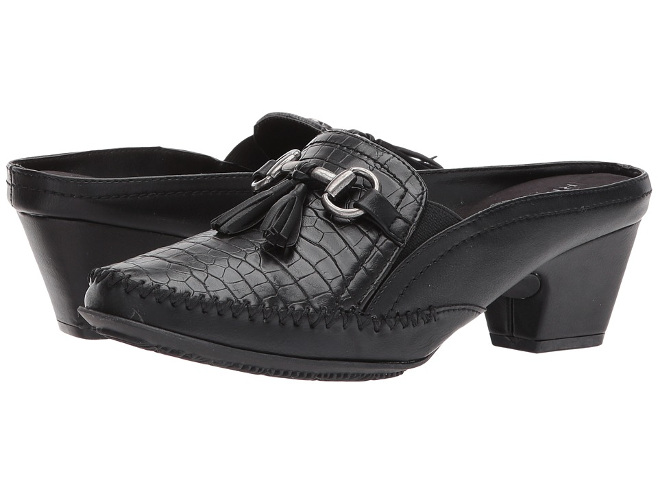 Rialto - Santana (Black/E-Print) Women's Shoes