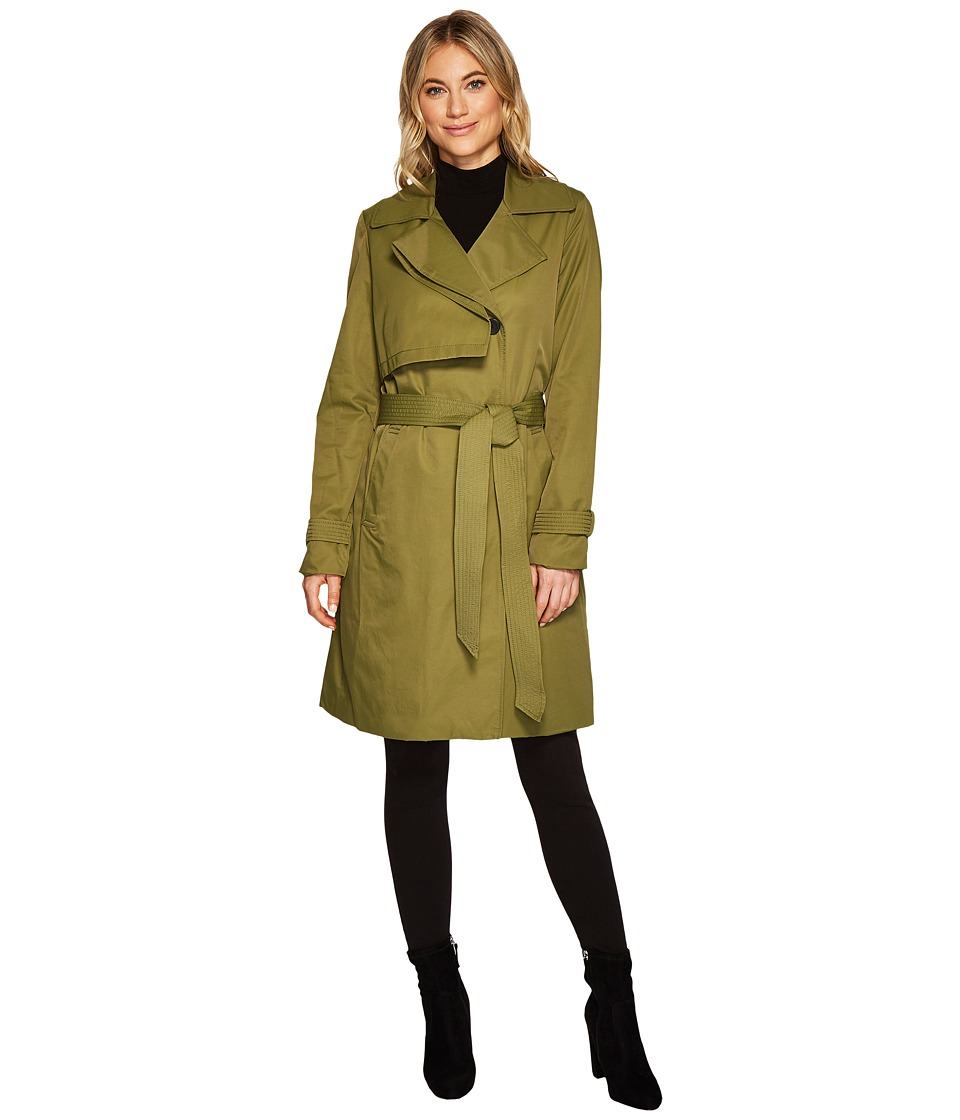 7 For All Mankind - Duster (Olive) Women's Coat